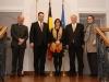 07/01/2014 - Frau Catherine De Bolle, Generalkommissarin der föderalen Polizei Belgiens, zu Besuch in Eupen
