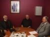 22/01/2014 - Treffen mit dem Bürgermeister der Randgemeinde Trois-Ponts