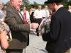 01/08/2014 - Lambertz begrüßt eine Delegation aus Tirol zum alljährlichen Empfang anlässlich des Tirolerfestes im Parlament