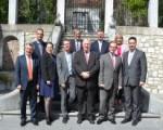 Kollegium und Gouverneur der Provinz Luxemburg zu Gast in Eupen