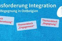 """Themenabend """"Herausforderung Integration – für mehr Begegnung in Ostbelgien"""""""